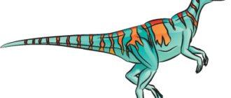 Как нарисовать динозавра Гипсилофодон