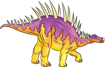 Как нарисовать динозавра Дацентрур в 6 шагов