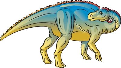 Как нарисовать динозавра Бактрозавр в 7 шагов