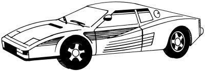 Как нарисовать автомобиль Ferrari поэтапно в 5 шагов