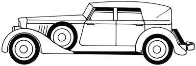 Как нарисовать классический автомобиль поэтапно в 5 шагов