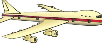 Как нарисовать пассажирский самолет