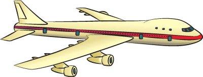 Как нарисовать пассажирский самолет в 5 шагов