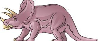 Как нарисовать динозавра Трицератопса