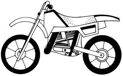 Как нарисовать Мотоцикл в 5 шагов