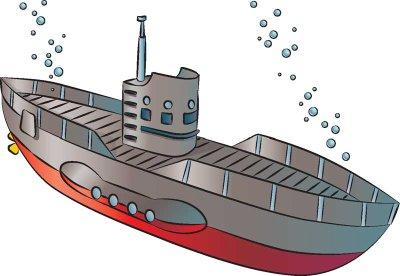 Как нарисовать подводную лодку поэтапно в 6 шагов