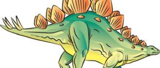 Как нарисовать динозавра Стегозавра