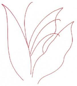 Как нарисовать цветы Ландыши поэтапно в 5 шагов. Шаг 1