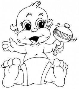 Как нарисовать ребенка поэтапно в 5 шагов 1