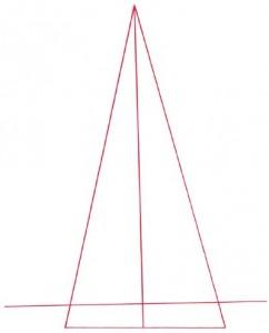 Как нарисовать Эйфелеву башню поэтапно в 5 шагов 2