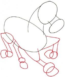 Как нарисовать Пони поэтапно в 5 шагов 3