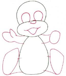 Как нарисовать ребенка поэтапно в 5 шагов 3