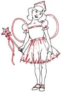Как нарисовать Девочку Фею поэтапно в 5 шагов 5