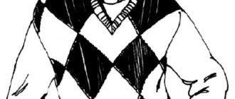 Как нарисовать Мужчину в свитере