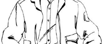 Как нарисовать Мужчину в куртке