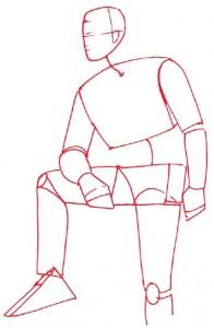 Как нарисовать Ковбоя поэтапно в 5 шагов 2
