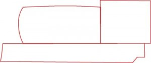 Как нарисовать Паровоз поэтапно в 7 шагов 2