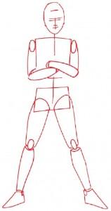Как нарисовать Мальчика пирата поэтапно в 5 шагов 2