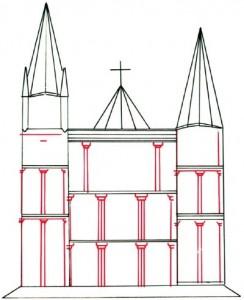 Как нарисовать Собор поэтапно в 5 шагов 4