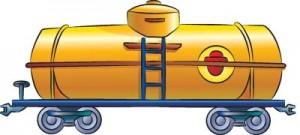 Как нарисовать Цистерну поезда поэтапно в 5 шагов 1