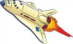 Как нарисовать Ракету поэтапно в 7 шагов 1