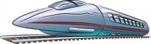 Как нарисовать Сверхскоростной поезд поэтапно в 6 шагов 1