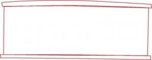 Как нарисовать Вагон поезда поэтапно в 6 шагов 2