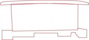 Как нарисовать Тормозной вагон поезда поэтапно в 6 шагов 2