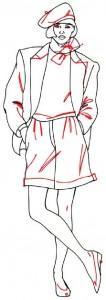 Как нарисовать Девушку в шортах поэтапно в 5 шагов 5