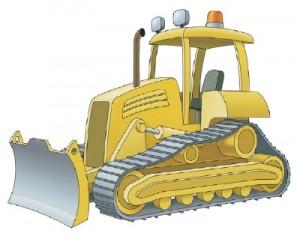 Как рисовать строительные машины поэтапно 1