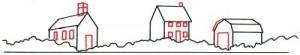 Как нарисовать деревню поэтапно в 5 шагов 2