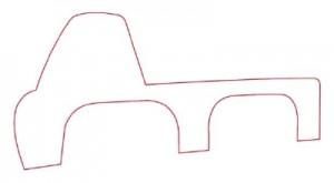 Как нарисовать Автомобильный Кран поэтапно в 10 шагов 2