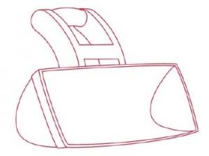 Как нарисовать Снегоуборочную машину поэтапно в 9 шагов 2