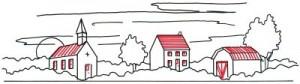 Как нарисовать деревню поэтапно в 5 шагов 4