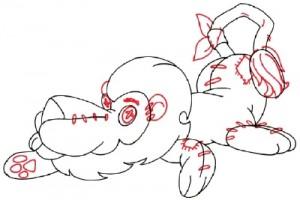 Как нарисовать Льва поэтапно в 5 шагов 5