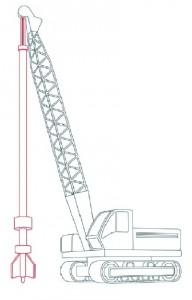 Как нарисовать Буровую машину поэтапно в 11 шагов 7