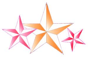 Как нарисовать звезду поэтапно в 5 шагов 1