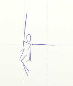 Как нарисовать Ангела поэтапно в 6 шагов 2