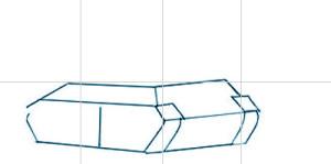 Как нарисовать Танк поэтапно в 7 шагов 2