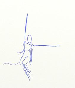 Как нарисовать Ангела поэтапно в 6 шагов 3