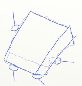 Как нарисовать Спанч Боба поэтапно в 6 шагов 4