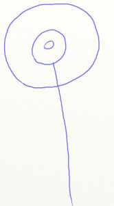 Как нарисовать ромашки поэтапно в 5 шагов 3