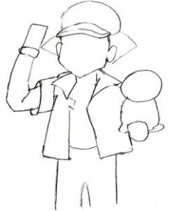 Как нарисовать аниме поэтапно в 5 шагов 4