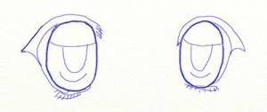 Как нарисовать глаза поэтапно в 5 шагов 5