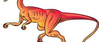Как рисовать динозавра Целофизис