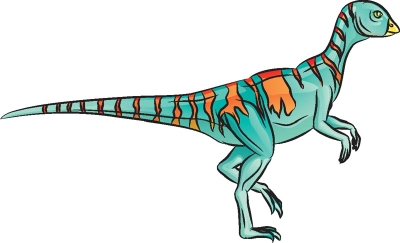 Как нарисовать динозавра Гипсилофодон в 7 шагов