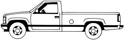 Как нарисовать автомобиль пикап поэтапно в 5 шагов