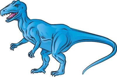 Как нарисовать Аллозавр в 6 шагов