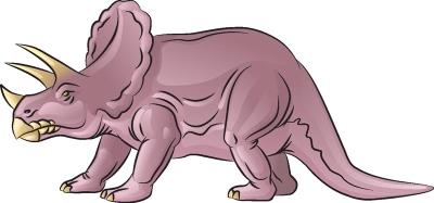 Как нарисовать динозавра Трицератопса в 6 шагов