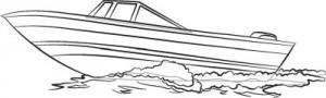 Как нарисовать катер поэтапно в 5 шагов. Шаг 5